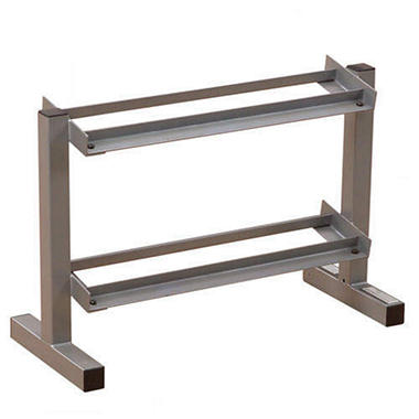 "Powerline PDR282X 32"" 2 Tier Dumbbell Rack"