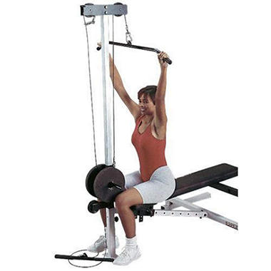 Body Solid GLRA81 Lat Pulldown/Seated Row Station