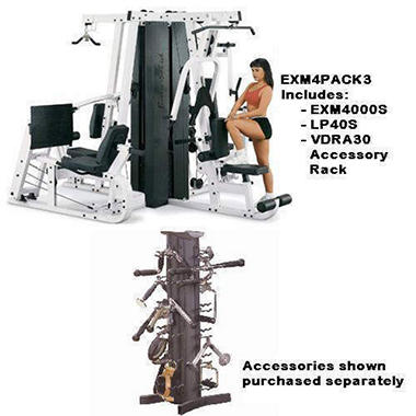 Body-Solid� EXM4 Commercial Rated Fitness Room 3
