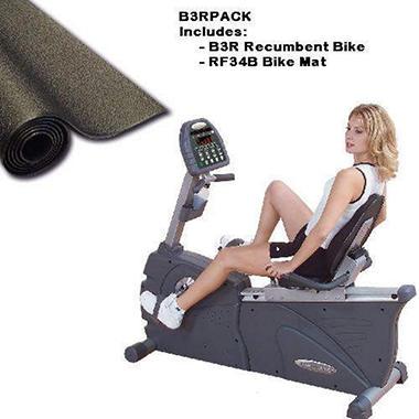 Endurance B3R Recumbent Bike Package