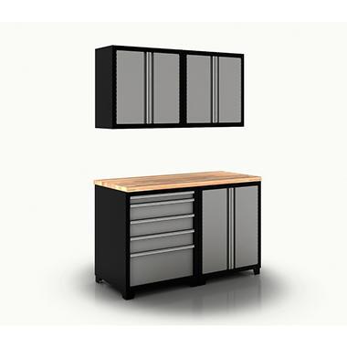 New Age Cabinet Set - Grey - 5 pc.