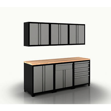 New Age Cabinet Set - Grey - 7 pc.