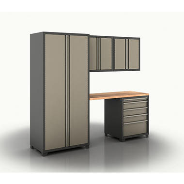 Coleman Cabinet Set - Taupe - 5 pc.