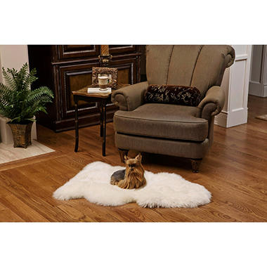 100% Genuine Sheepskin Rug - 41