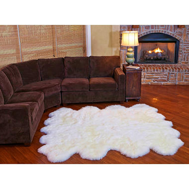 100% Genuine Sheepskin Rug - 70