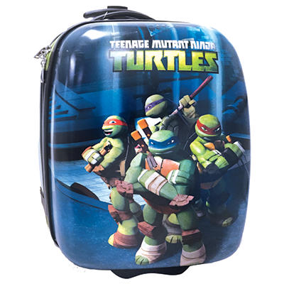 Teenage Mutant Ninja Turtles Kid's Hardside Rolling Tote
