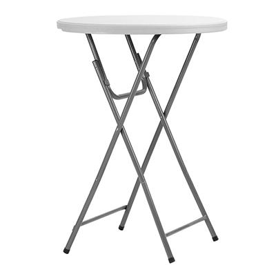 "Maxchief 32"" Round Bar Height Event Table, White"