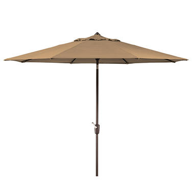 Member's Mark® 10' Beige Market Umbrella with Premium Sunbrella® Fabric