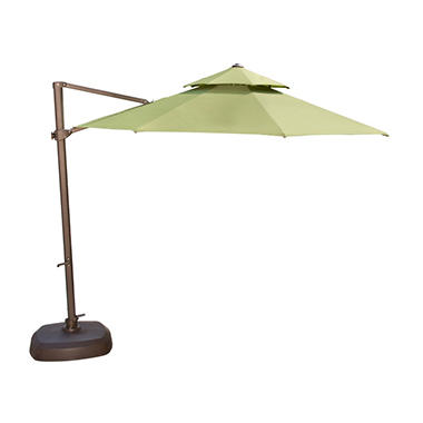 11' Turf Cantilever Umbrella
