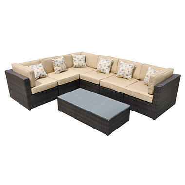 Tribecca Outdoor Patio Sectional - 7 pc.