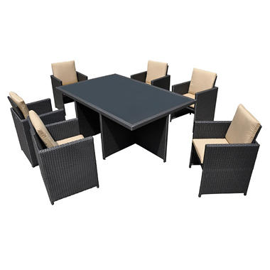 Soho Outdoor Patio Dining Set - 7 pc.