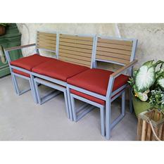 Pelham Convertible Dining Set - Red