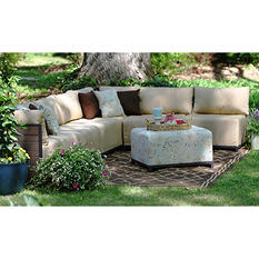 Ferry Pointe 8-piece Sectional in Premium Sunbrella Fabric