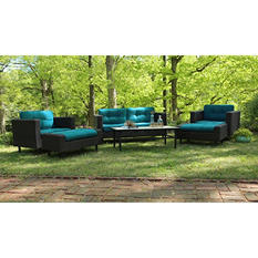Wright 6-Piece Deep Seating with Premium Sunbrella Fabrics