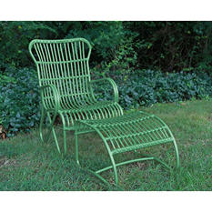 2 Piece Palmetto Chair - Green