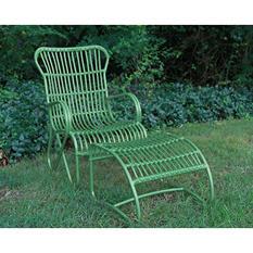 2 Piece Palmetto Chair - Green