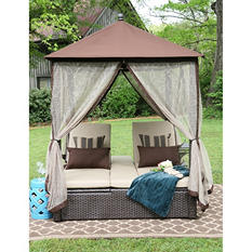 Arden Double Chaise Gazebo
