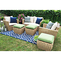 Bethany 6-Piece Deep Seating with Premium Sunbrella Fabric