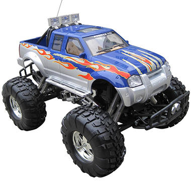 XQ Giant 1:6 Scale Radio Control Blue Monster Truck