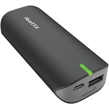 iBattz Vogue Battstation 5600 Portable Charger - Black