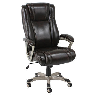 Barcalounger Big Amp Tall Executive Chair Brown Supports