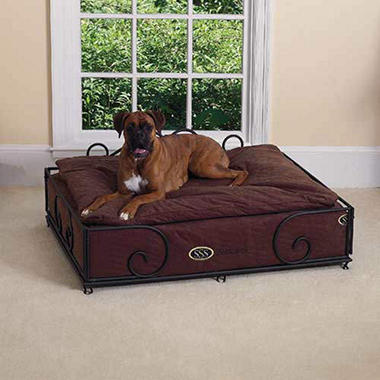 SSS PetCare Pillow Top Pet Bed and Frame