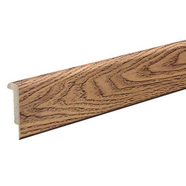 SimpleSolutions™ Stairnose Molding – Williamsburg Walnut / Russet Oak; 78.75 In. Long