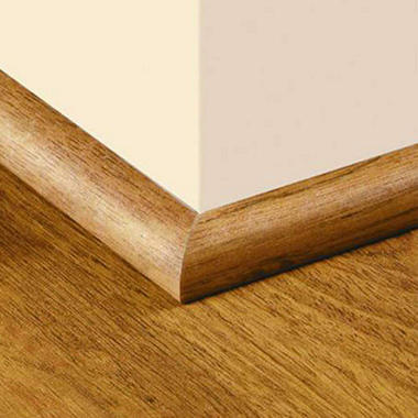 SimpleSolutions™ Quarter Round Molding - Roasted Maple