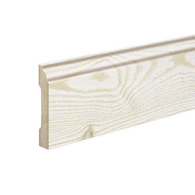 SimpleSolutions™ Wallbase Molding – White Pine; 94.50""