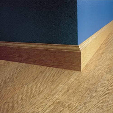 SimpleSolutions? Wallbase Molding ? Blonde Oak; 94.50""