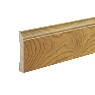 SimpleSolutions? Wallbase Molding ? Natural Brazilian Cherry; 94.50""