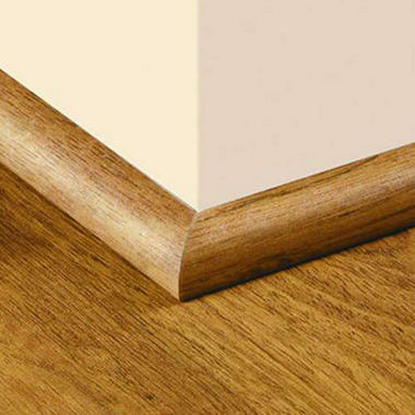 SimpleSolutions? Quarter Round Molding ? Natural Fruitwood / Seasoned Cherry; 94.50 In. Long
