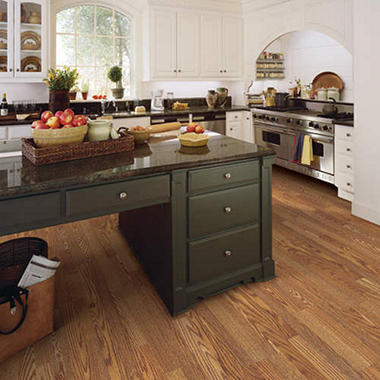 Traditional Living� Premium Laminate Flooring - Raven Oak; 8MM + 2MM Underlayment Thick - 1PK