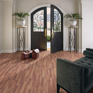 Traditional Living®  Premium Laminate – English Walnut; 10mm thick – 36 pk.