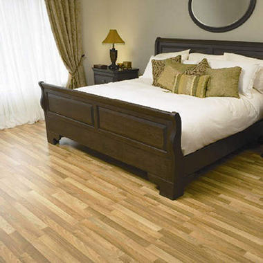 Traditional Living� Premium Laminate Flooring - Nat Fruitwood; 8MM + 2MM Underlayment Thick - 1PK