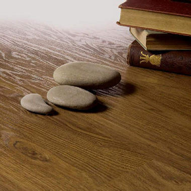 Traditional Living�  Premium Laminate ? Williamsburg Walnut; 10mm thick ? 1 pk.