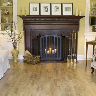 Traditional Living�  Premium Laminate ? Roasted Maple; 10mm thick ? 36 pk.