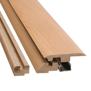 "SimpleSolutions™ Four-in-One Molding - Classic Beech - 78.75"" Long"