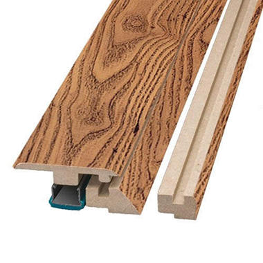 "Simple Solutions? Four-in-One Molding - Russet Oak - 78.75"" Long"