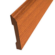 SimpleSolutions™ Wallbase Molding - Golden Amber Oak; 94.50""