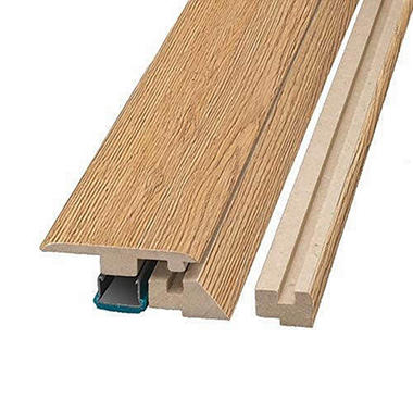 SimpleSolutions™ Four-in-One Molding - Blonde Oak; 78.75 In. Long
