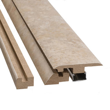 "SimpleSolutions? Four-in-One Molding - Grand Marble - 78.75"" Long"
