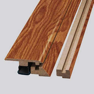 SimpleSolutions? Four-in-One Molding ? Heirloom Oak; 78.75 In. Long