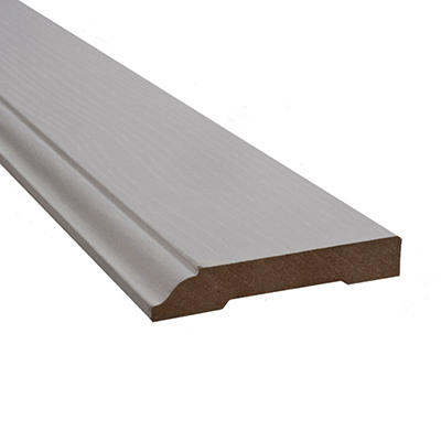 SimpleSolutions™ Wallbase Molding - White