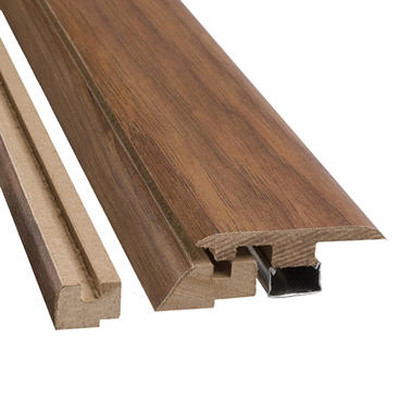 SimpleSolutions™ Four-in-One Molding - West End Oak - 78.75