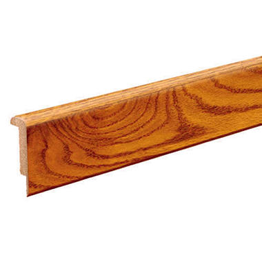 SimpleSolutions? Stairnose Molding ? Natural Brazilian Cherry; 78.75 In. Long