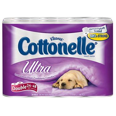 Cottonelle Ultra Toilet Paper - 24 ct.