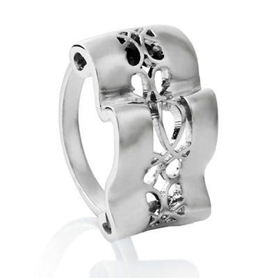 Cuzan By Mackech Ring in Sterling Silver