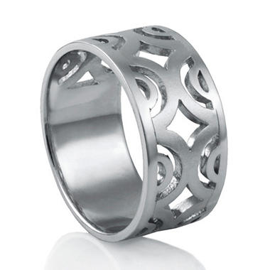 Mackech Symmetric Ring in Sterling Silver