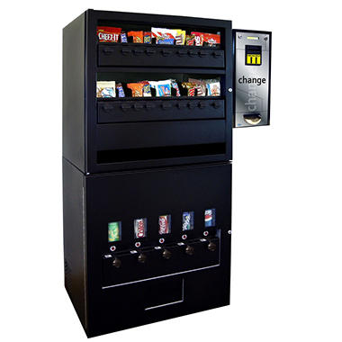 Seaga Large Mechanical Combination Vending Machine with Changer